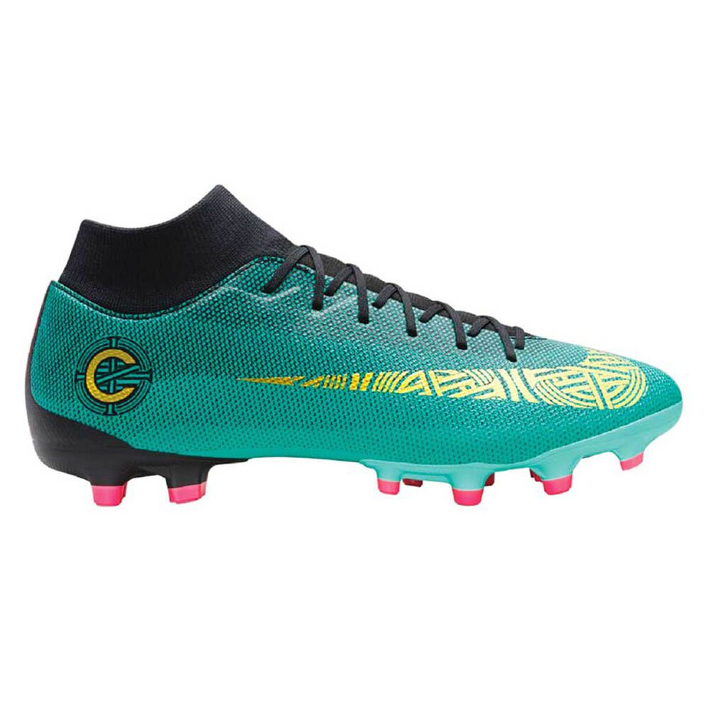 classic fit 39bb8 6e886 Nike Superfly 6 Academy CR7 MG Mens Football Boots Green   Gold US 7 Adult,