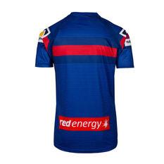 Newcastle Knights 2020 Mens Training T-Shirt Blue S, Blue, rebel_hi-res