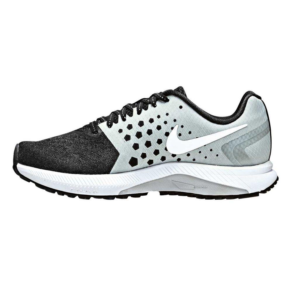 204f58c2ac41 Nike Air Zoom Span Womens Running Shoes Black   White US 6