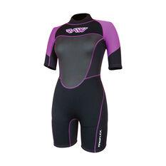 RAW Womens Spring Suit Black / Purple 8, Black / Purple, rebel_hi-res