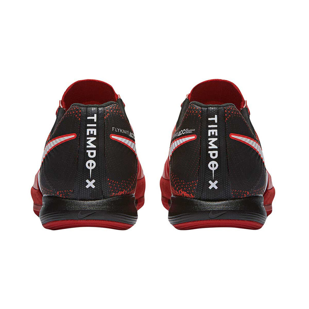 13fc790c6b24 Nike TiempoX Proximo II Mens Indoor Soccer Shoes Red   White US 11 Adult