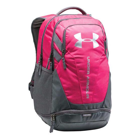 0b2e07ef Under Armour Hustle 3.0 Backpack Pink / Grey
