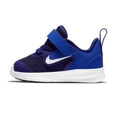 Nike Downshifter 9 Toddlers Shoes Blue / White US 2, Blue / White, rebel_hi-res