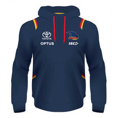 Adelaide Crows 2020 Kids Squad Hoodie Navy 6, Navy, rebel_hi-res