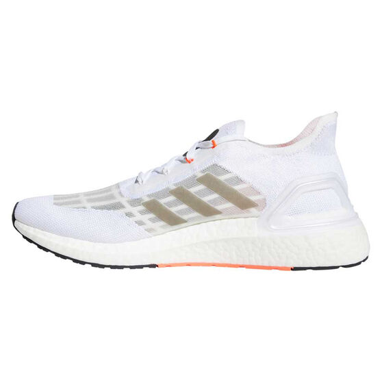 adidas Ultraboost S.RDY Mens Running Shoes, White/Black, rebel_hi-res
