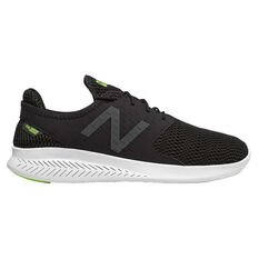 New Balance FuelCore Coast v3 Mens Casual Shoes Black / White US 7, Black / White, rebel_hi-res
