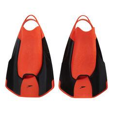 Speedo Fastskin Kick Fins Orange / Black 3 - 4, Orange / Black, rebel_hi-res