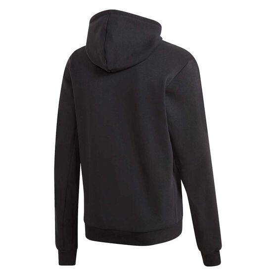 adidas Mens Must Haves Badge of Sport Fleece Hoodie, Black, rebel_hi-res