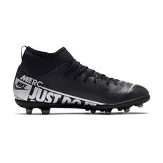 Nike Mercurial Superfly VII Club Kids Football Boots Black / Grey US 1, Black / Grey, rebel_hi-res