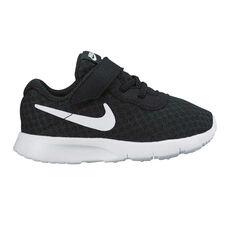 82bba0d37a0cc3 Nike Tanjun Toddlers Shoes Black   White US 3