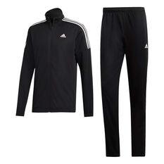 adidas Mens Team Sports Tracksuit Black S, Black, rebel_hi-res