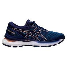 Asics GEL Nimbus 22 Womens Running Shoes Navy US 6, Navy, rebel_hi-res