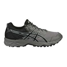 Asics Gel Sonoma 3 Mens Trail Trail Running Shoes Grey / Black US 7, Grey / Black, rebel_hi-res