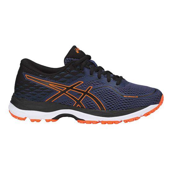 75292bcc76d Asics Gel Cumulus 19 Boys Running Shoes Blue   Black US 5