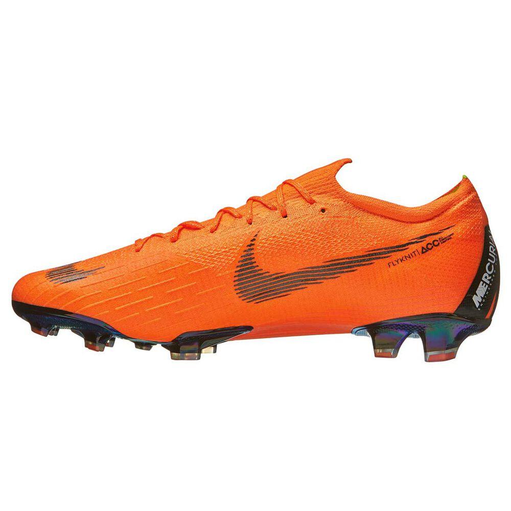 52d45fa29 Nike Mercurial Vapor XII Mens Football Boots Orange   Black US 7 Adult