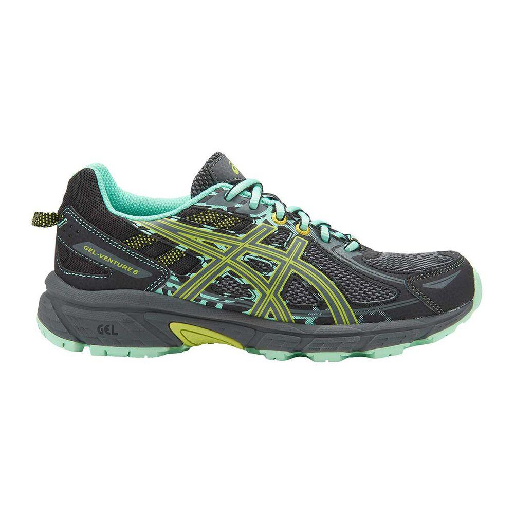 e3961def66b Asics Gel Venture 6 Kids Running Shoes Grey / Yellow US 4, Grey / Yellow