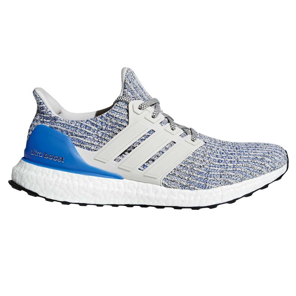 a27d6cc9218 adidas Ultraboost Mens Running Shoes White   Blue US 7