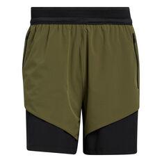 Adidas Mens Studio Tech Shorts Green S, Green, rebel_hi-res