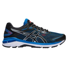 Asics GT 2000 7 2E Mens Running Shoes Black US 7, Black, rebel_hi-res