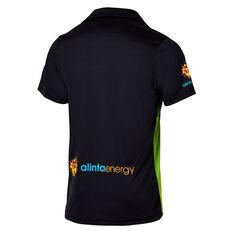Cricket Australia 2018/19 Mens T20 Shirt Black S, Black, rebel_hi-res