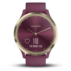Garmin  Vivomove HR Fitness Tracker Merlot Gold, , rebel_hi-res