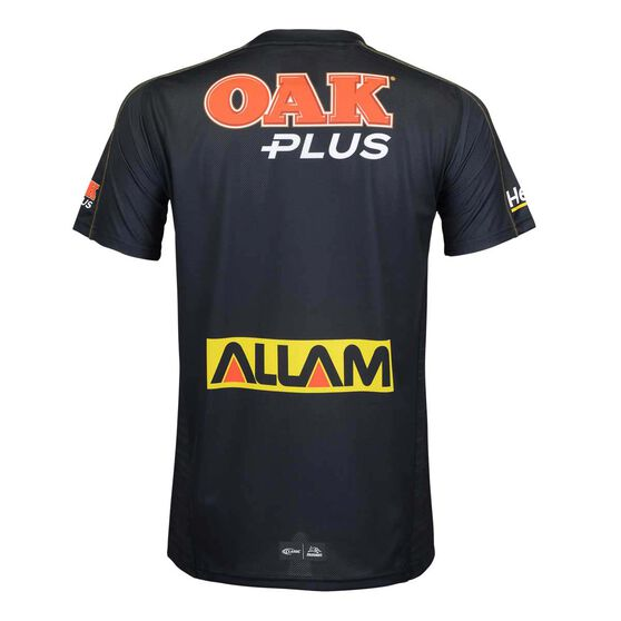 Penrith Panthers 2019  Men's Training Tee, Black, rebel_hi-res