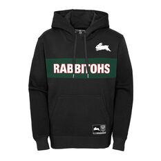 South Sydney Rabbitohs 2021 Mens Hoodie, Black, rebel_hi-res