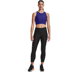 Under Armour Womens HeatGear No Slip Ankle Tights Black XS, Black, rebel_hi-res