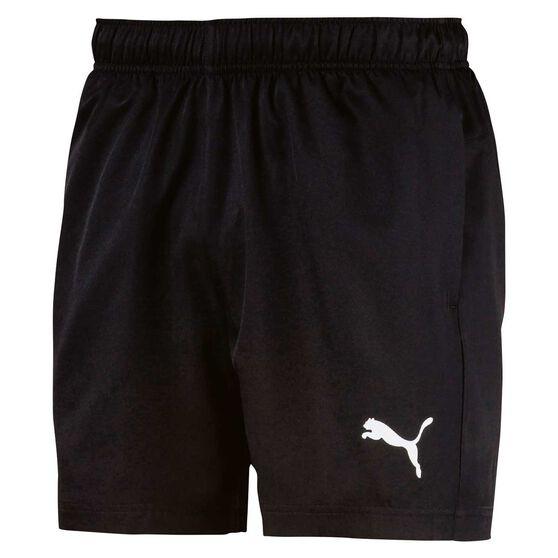 Puma Mens Essentials Woven 5in Shorts, Black, rebel_hi-res