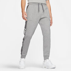 Nike Mens Sportswear Air Fleece Pants Grey XS, Grey, rebel_hi-res