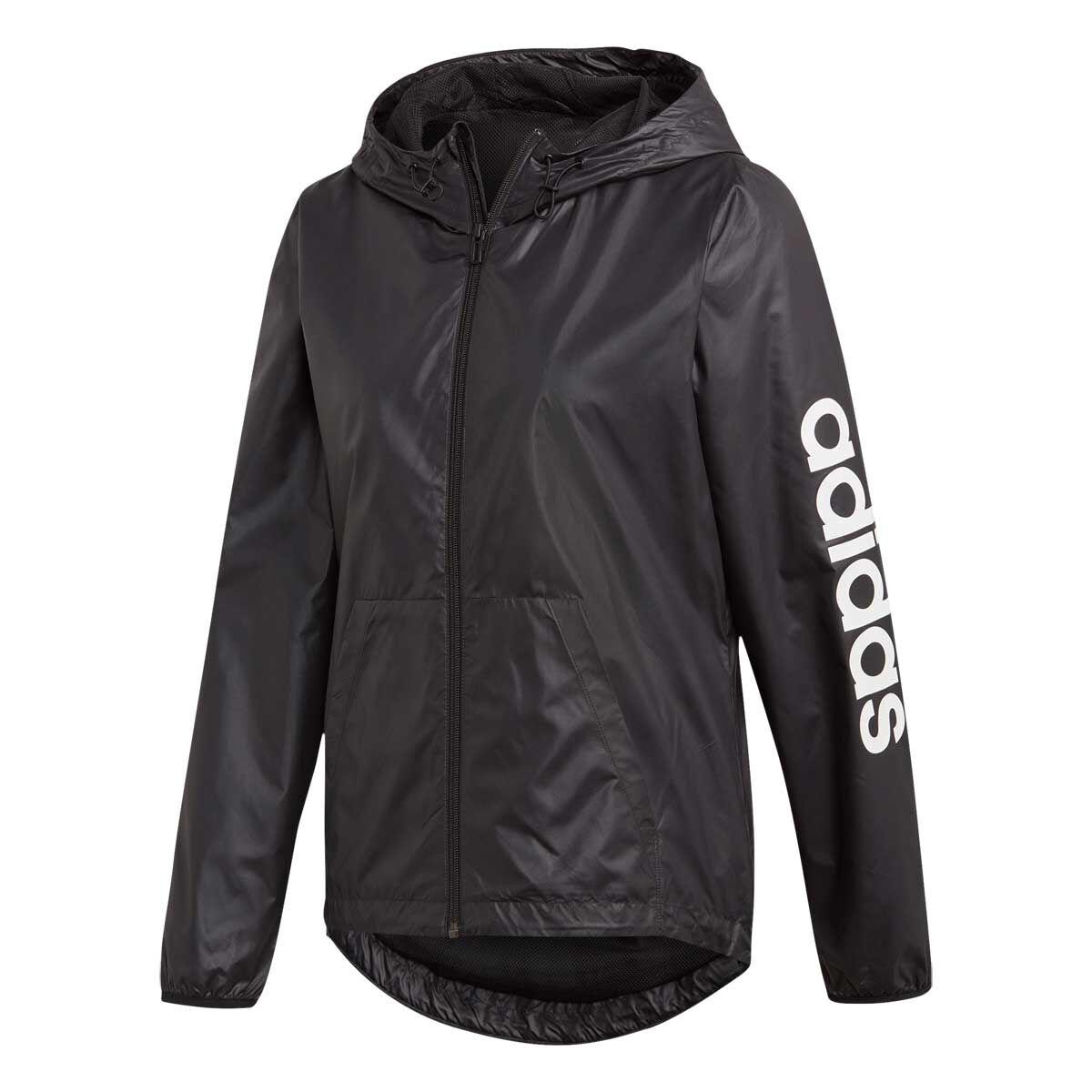 adidas Women's Linear Windbreaker Jacket NWT, size