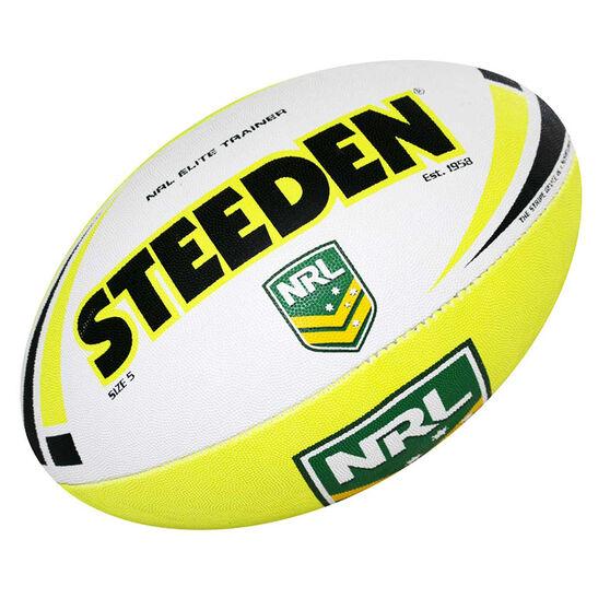 Steeden NRL Elite Trainer Rugby League Ball, , rebel_hi-res