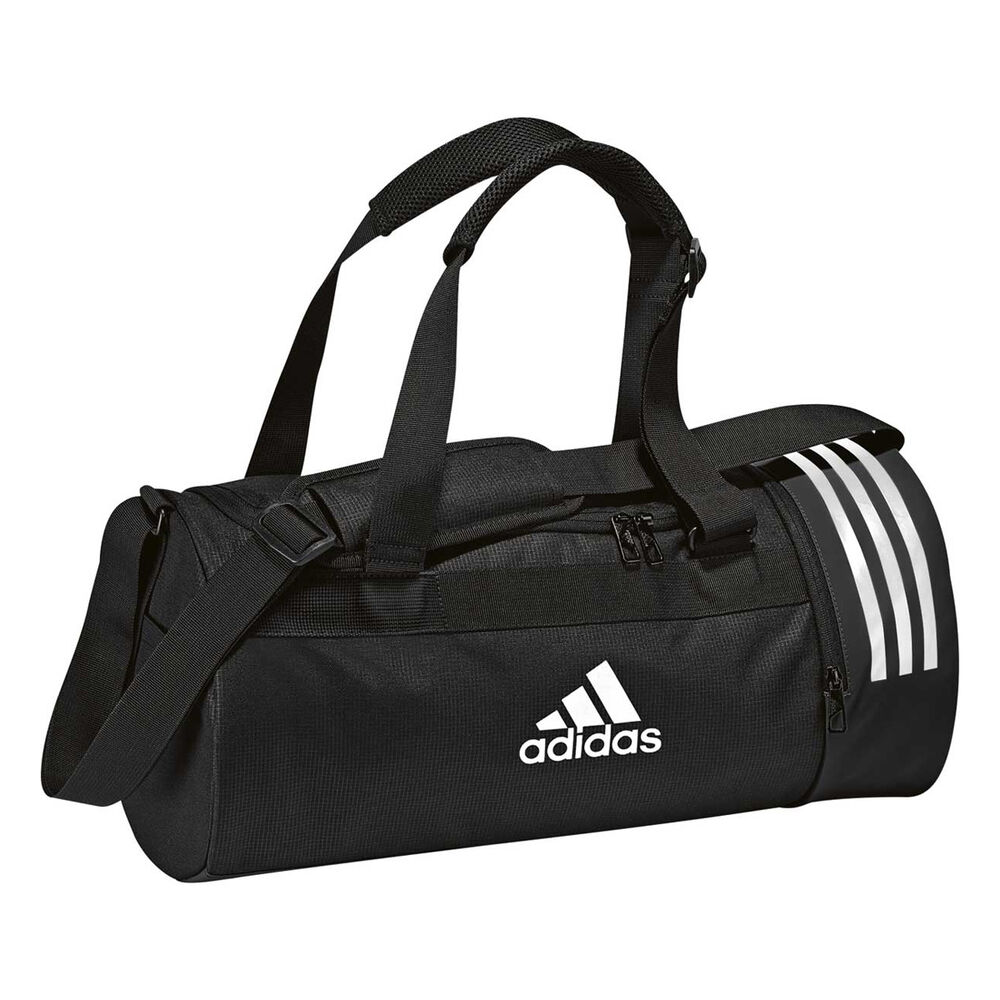3787bc39ac6 adidas Convertible Backpack Duffel Bag Black | Rebel Sport