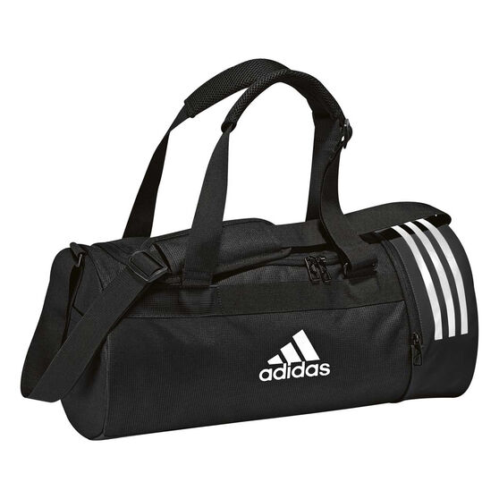 92039b843472 adidas Convertible Backpack Duffel Bag Black