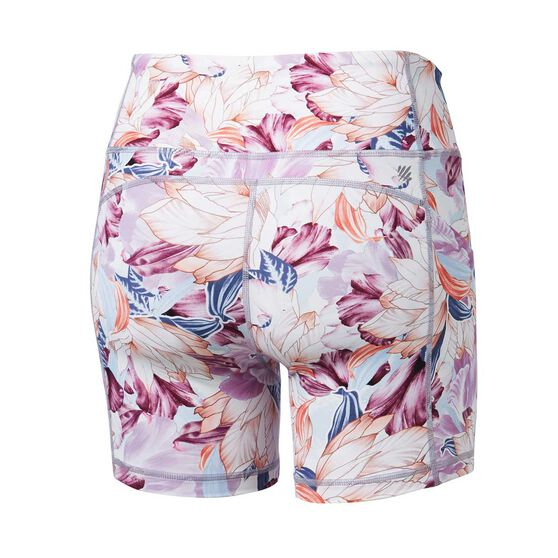 Ell & Voo Womens Paige 5 Inch Printed Pocket Shorts, Print, rebel_hi-res