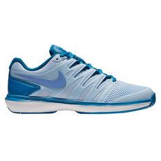 Nike Air Zoom Prestige Womens Tennis Shoes Blue US 6, Blue, rebel_hi-res