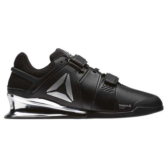 3cb22937704 Reebok Legacy Lifter Mens Training Shoes Black   White US 9