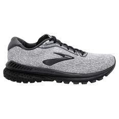 Brooks Adrenaline GTS20 Mens Running Shoes Grey/White US 8, , rebel_hi-res