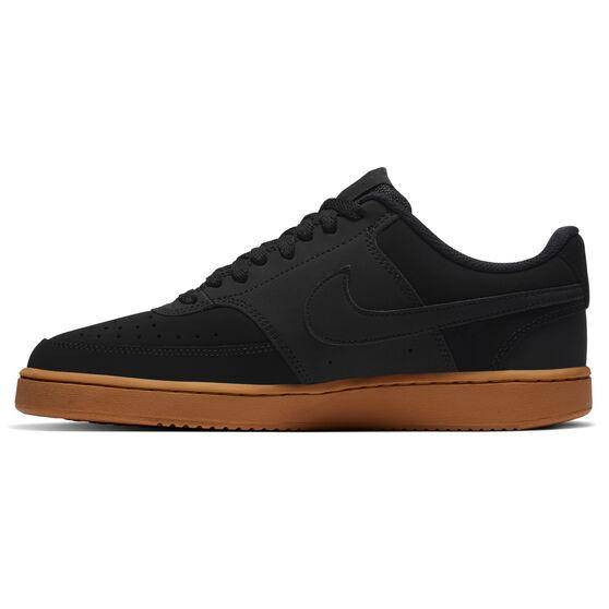 Nike Court Vision Low Mens Casual Shoes, Black/Brown, rebel_hi-res