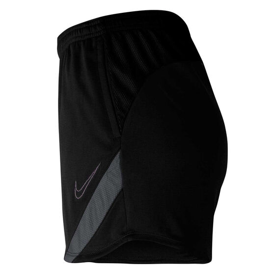 Nike Womens Dri FIT Academy Pro Soccer Shorts, Black, rebel_hi-res