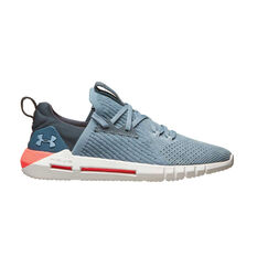 Under Armour HOVR SLK EVO Perf Suede Mens Casual Shoes Grey / White US 7, Grey / White, rebel_hi-res