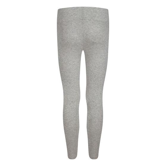 Nike Girls Air High Rish Leggings, Grey, rebel_hi-res