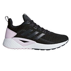 adidas Questar CC Womens Running Shoes Black / Lilac US 6, Black / Lilac, rebel_hi-res