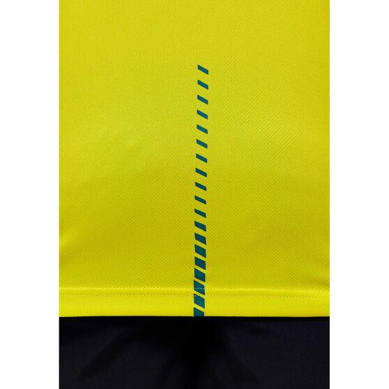 Asics Kids Boomers 2021 Jersey, Yellow, rebel_hi-res