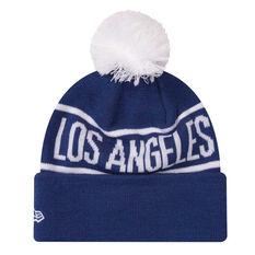 Los Angeles Dodgers 2019 New Era Homerun Knit Beanie, , rebel_hi-res