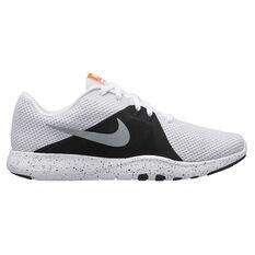 Nike Flex TR 8 Womens Running Shoes White / Silver US 6, White / Silver, rebel_hi-res