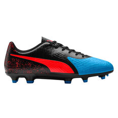 Puma One 19.4 Mens Football Boots Blue / Red US Mens 7 / Womens 8.5, Blue / Red, rebel_hi-res