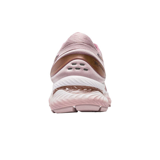 Asics GEL Nimbus 22 Womens Running Shoes, Pink / Rose Gold, rebel_hi-res