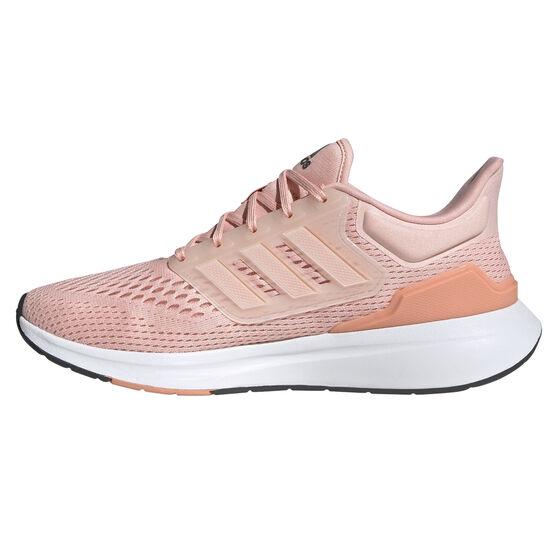 adidas EQ21 Womens Running Shoes, Pink, rebel_hi-res