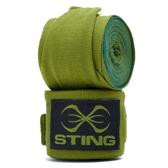 Sting Elasticised Hand Wraps 450cm Khaki, Khaki, rebel_hi-res